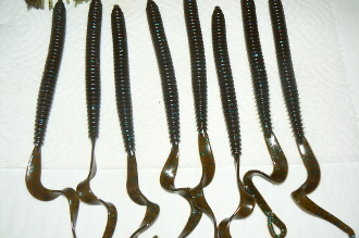 "10"" RINGED RIBBONTAIL WORM"